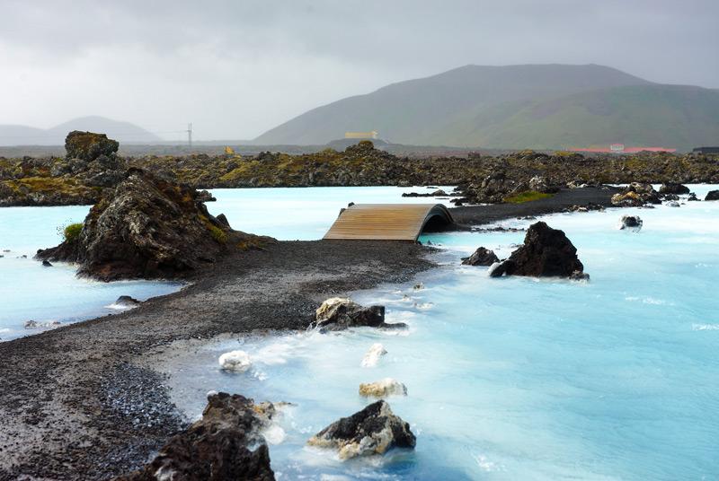 De Blue Lagoon een van de  IJsland bezienswaardigheden