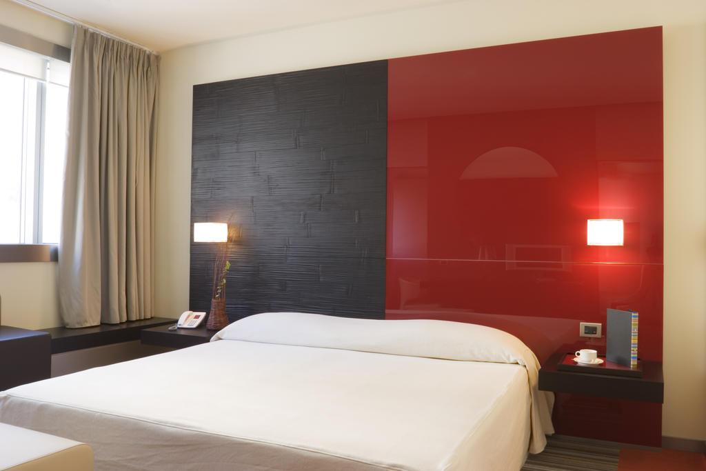 Tweepersoonskamer van Hotel T op Sardinië