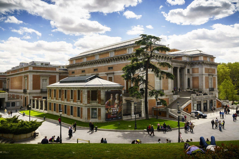 Het Prado Museum Madrid is een van de populaire bezienswaardighedenMadrid